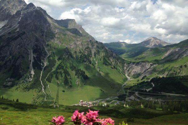20170627_Kaltenberghütte mit Alpenrosen
